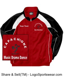 Youth Olympian Team Jacket Design Zoom